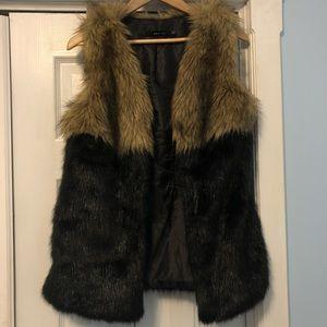 Ark & Co. faux fur vest